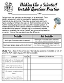 Testable Questions Practice