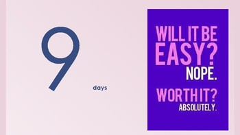 Testing 10-Day Countdown