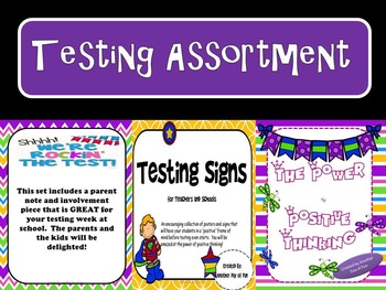 Positive Thinking!-Testing Assortment