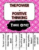 Positive Thinking!-Testing Assortment