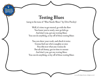 Testing Song Lyrics for Blue Suede Shoes