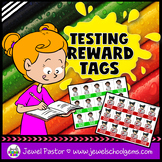 Testing Motivation Reward Tags (STEAM or STEM Testing Reward Tags)
