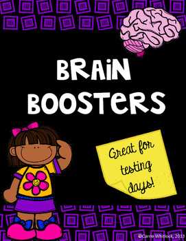 Testing Brain Boosters!