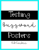 Testing Buzzwords Posters