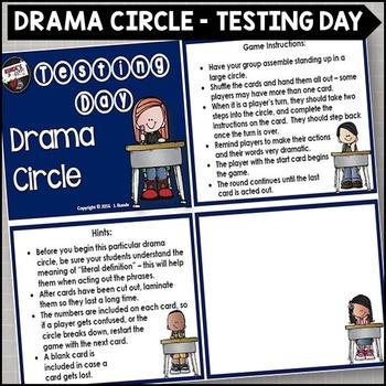 Testing Day Drama Circle