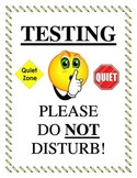 Testing Do Not Disturb Sign