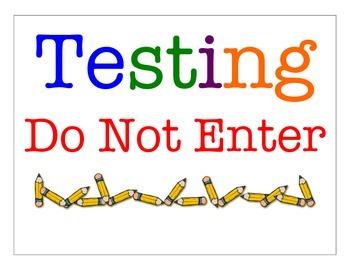 Testing Do Not Enter Door Sign