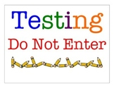 Testing Do Not Enter Door Sign