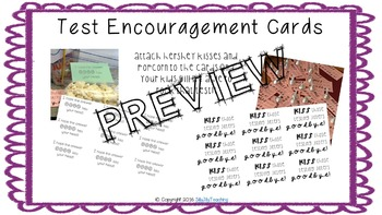 Testing Encouragement Cards