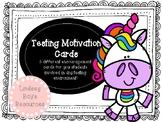 Testing Motivation Treats Printables