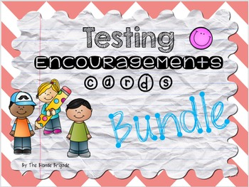 Testing Encouragement Cards Bundle