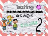 Testing Encouragement Cards Vol. 2