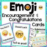 Encouragement Cards-Emoji Motivation and Congratulations Candy-Gram Cards