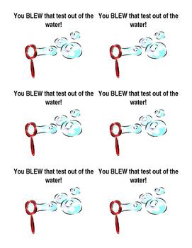 Testing Encouragements