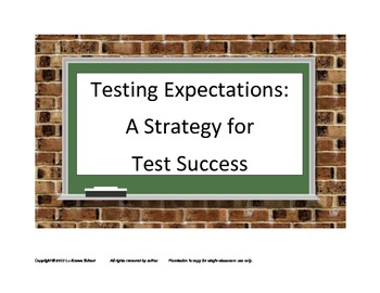Testing Expectations: A Strategy for Test Success