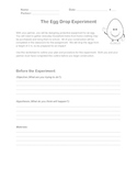 Testing Forces - The Egg Drop Experiment