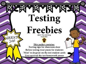 Testing Freebies