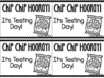 Testing Gift Chip Chip Hooray It's Testing Day