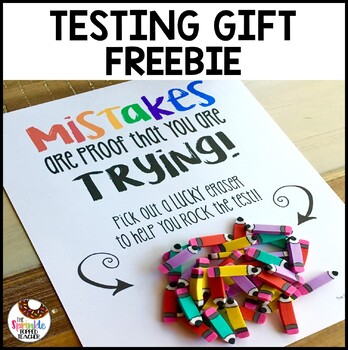 Testing Gift Mistakes Proof That You Are Trying with Erasers