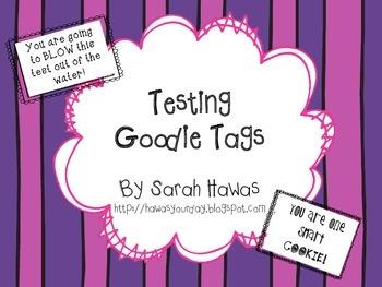 Testing Goodie Tags