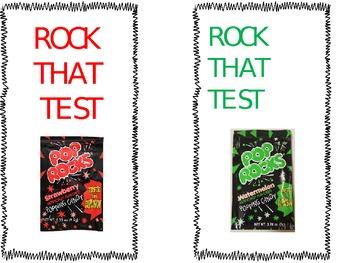 Testing Incentives--Pop Rocks!