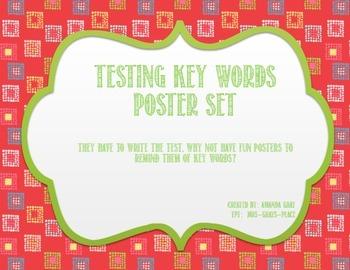 Testing Taking Key Words