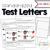 Testing Letter to Parents {Bilingual}