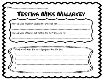 Testing Miss Malarkey FREEBIE