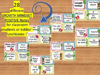 Testing Motiation notes -GROWTH MINDSET (Tropical  / Beacher