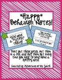 Happy Behavior Notes