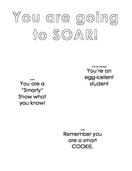 Testing Motivation Posters / Signs