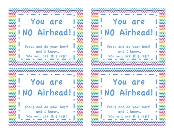 Testing Motivation: Airheads