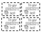 Testing Motivation Healthy Snacks Cards