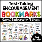 Testing Motivation Notes of Encouragement - Bookmarks