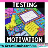 "Testing Motivation: ""Pattern Picture"" Coloring Page"