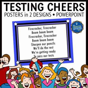 Testing Cheers Test Motivation Chants By The Brighter Rewriter Tpt