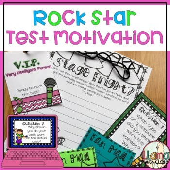 Testing Motivation Rock Star Theme