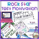 State Testing Motivation Rock Star Theme