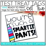 Testing Treat Tags   SET TWO