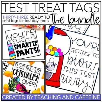 Testing Treat Tags | THE BUNDLE