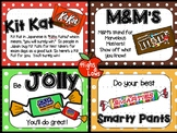 Testing Motivation and Encouragement Notes/ Treat Tags (Ki