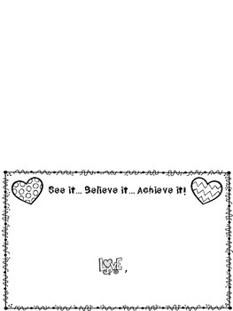 Testing: Motivational Letters for Students