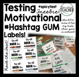 Testing Motivational #Hashtag Gum Bag Labels!