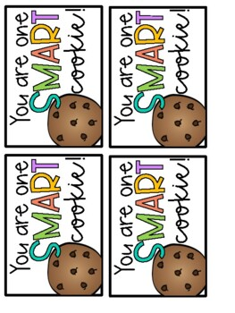 Smart Cookie Brag Tag