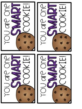 Smart Cookie Brag Tag