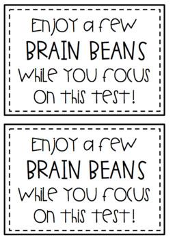 Testing Motivational Notes - Brain Beans