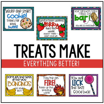 Testing Treat Tags Set 1