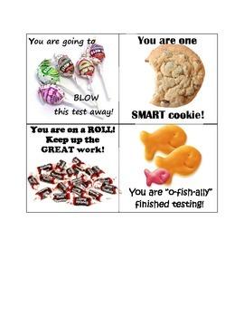 Testing Motivator Cards