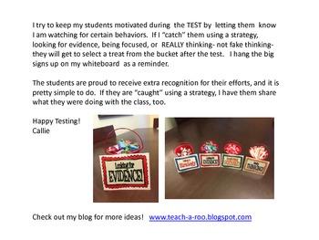 Testing Motivator Signs- Buckets O'Fun!