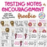 Testing Notes of Encouragement Printable FREEBIE Melonhead